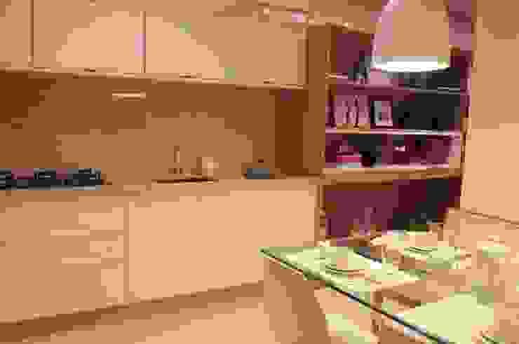 Decorado Apartamento Ária das Artes Cozinhas modernas por CORA ARQUITETURA Moderno