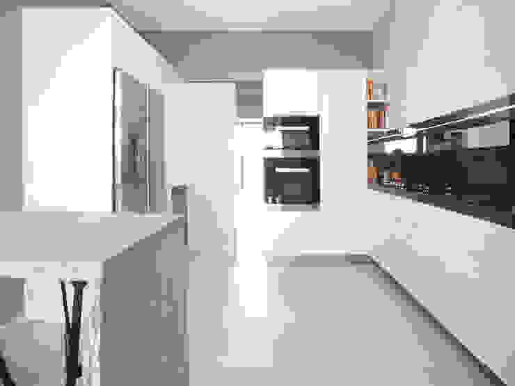 CITI LIFE Cucina minimalista di 02arch Minimalista