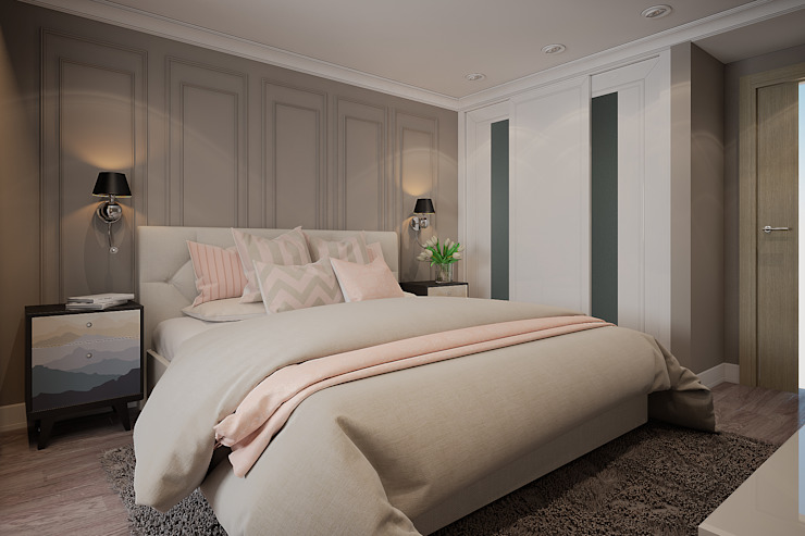Modern style bedroom by Alyona Musina Modern
