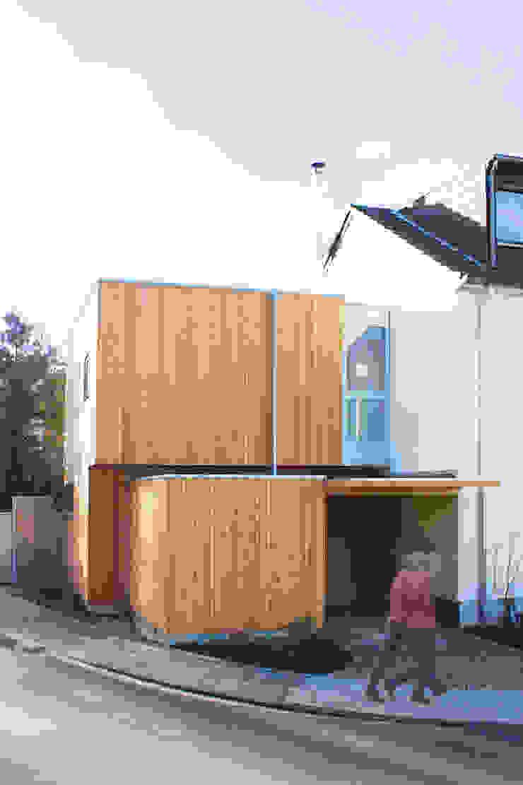 Kubus DANKE Architekten Moderne Wände & Böden