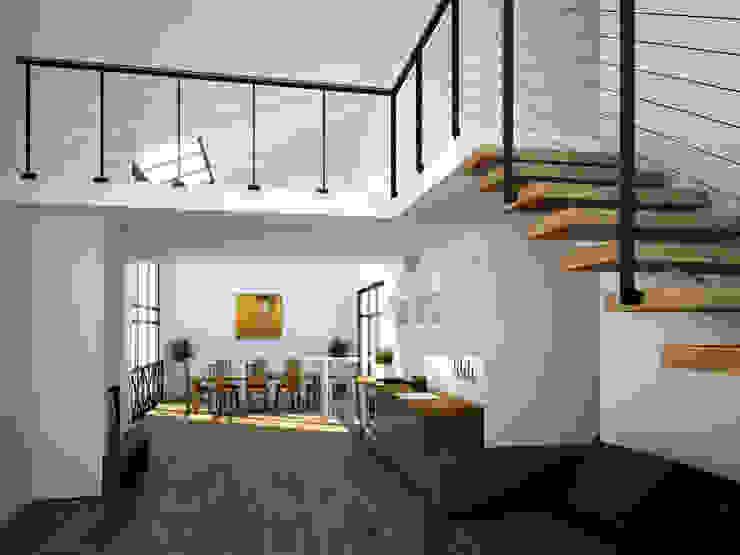 Comedores de estilo minimalista de Mild Haus Minimalista