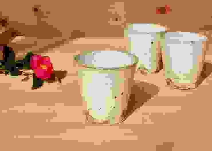 シンプルなcup: 中岡陶房工芸が手掛けたアジア人です。,和風 陶器