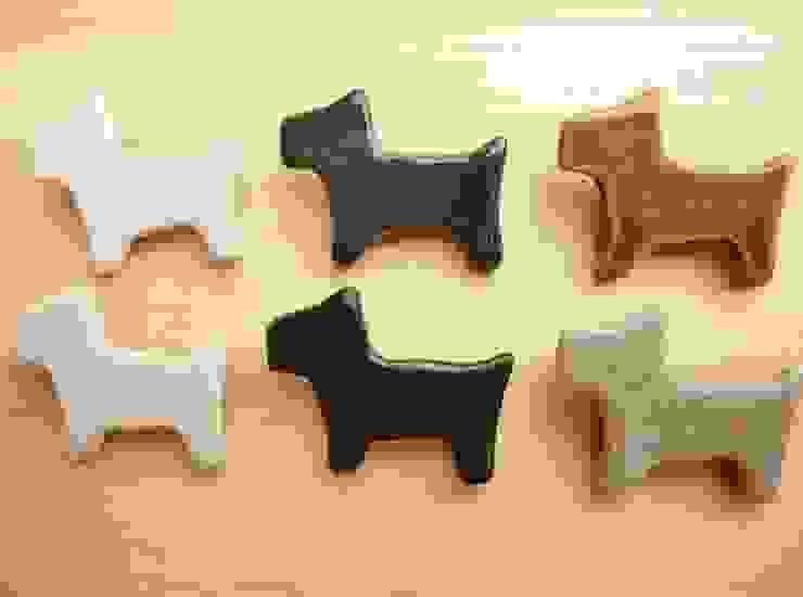 ワンちゃん陶ブローチ: 中岡陶房工芸が手掛けたアジア人です。,和風 陶器