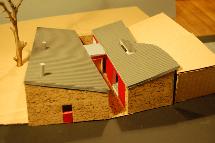 Maqueta por Borges de Macedo, Arquitectura.