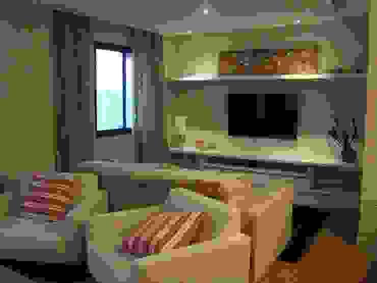 Sala, Residência GM Salas de estar modernas por HV | Arquitetos Associados Moderno