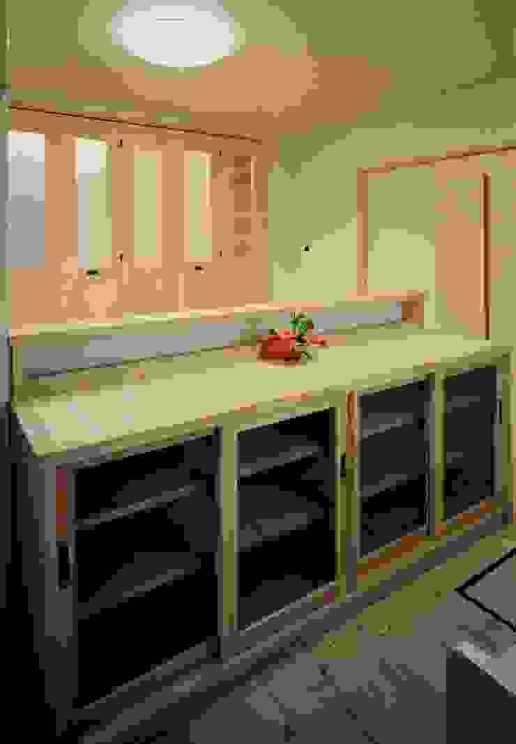 キッチンカウンター 木製 小栗建築設計室 キッチンカウンター