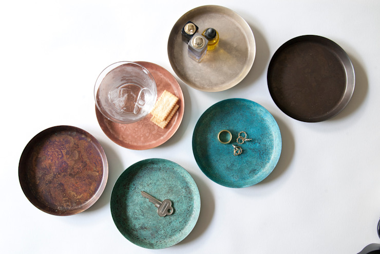 tray: 暮らすひと暮らすところが手掛けたミニマリストです。,ミニマル 銅/ブロンズ/真鍮
