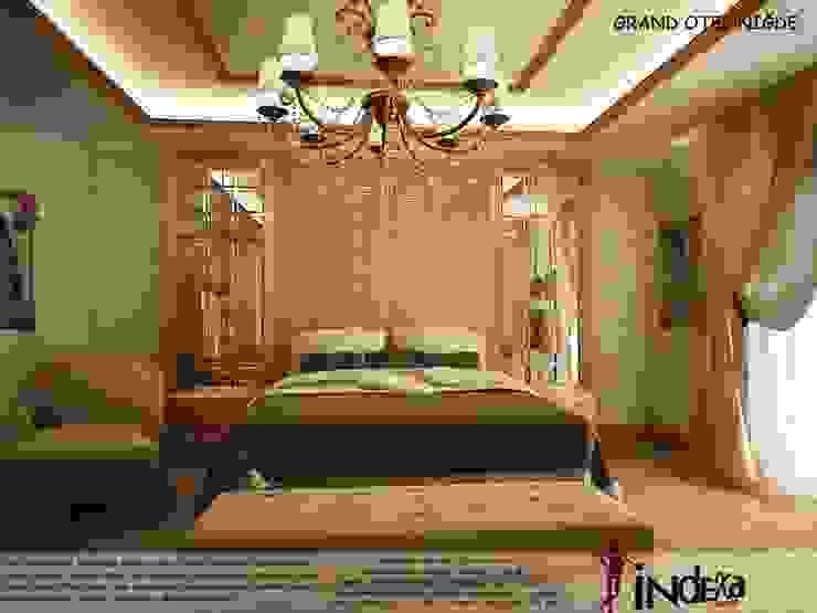 GRAND OTEL İNDEKSA Mimarlık İç Mimarlık İnşaat Taahüt Ltd.Şti. Klasik Ahşap Ahşap rengi