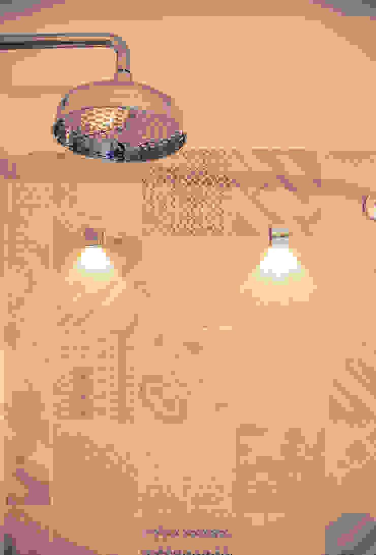 La Casa Retrò Alessandro Corina Interior Designer Bagno eclettico