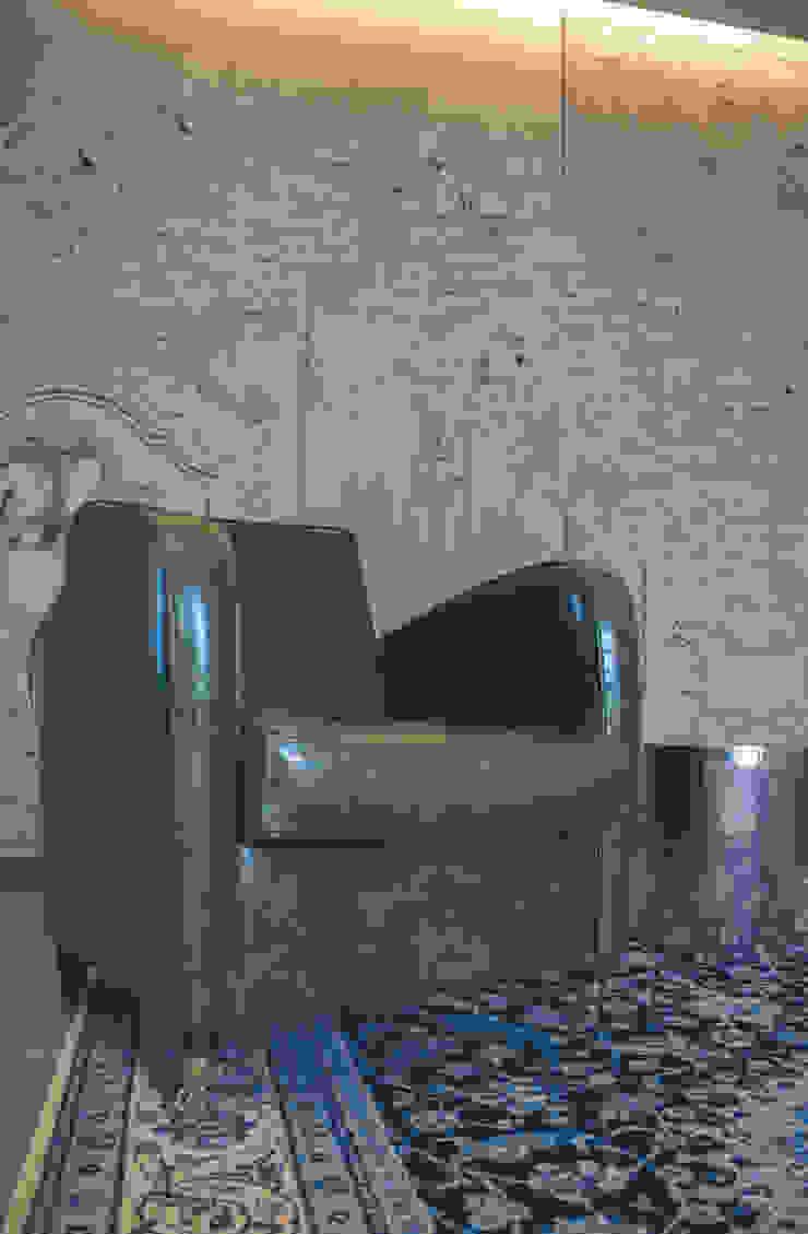 La Casa Retrò Alessandro Corina Interior Designer Soggiorno eclettico