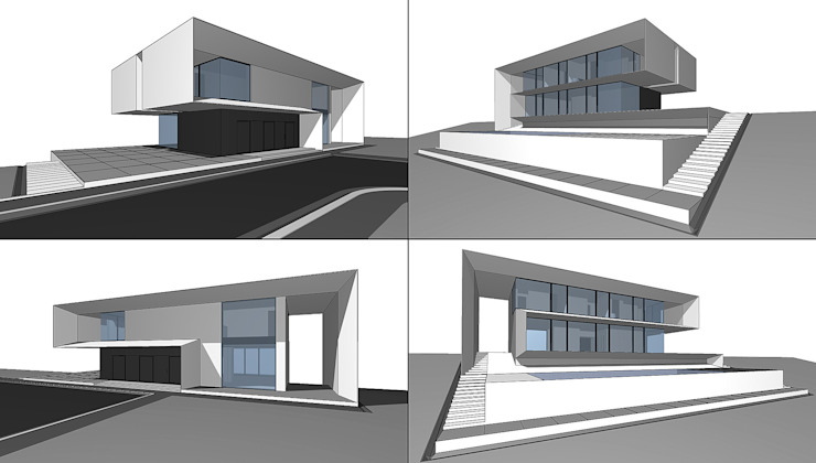 House in Ibiza Дома в стиле минимализм от ALEXANDER ZHIDKOV ARCHITECT Минимализм