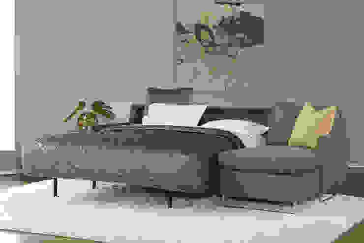 寝心地重視のソファーベッド「コンフォートスリーパー」: American Leather Japan LLCが手掛けたです。