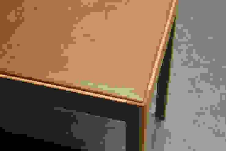 Slash table6: iei studioが手掛けた折衷的なです。,オリジナル 木 木目調