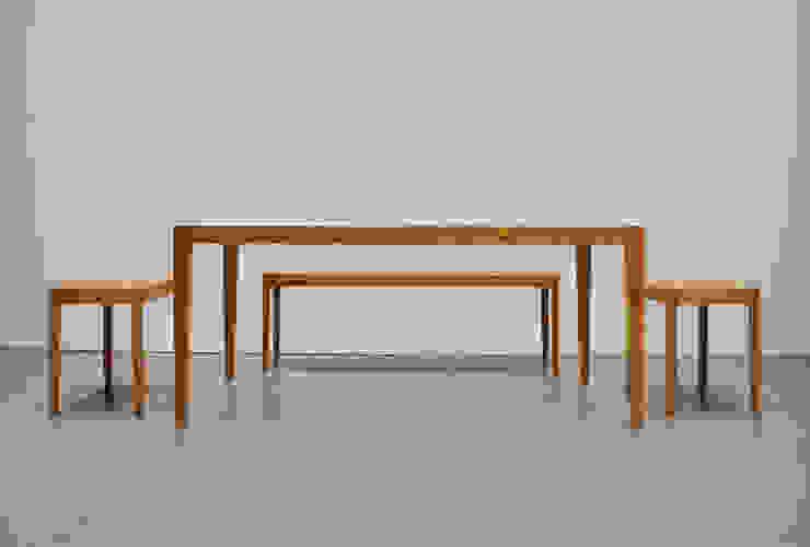 Slash table2: iei studioが手掛けた折衷的なです。,オリジナル 木 木目調