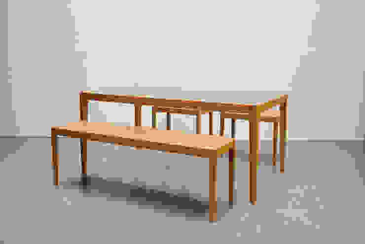 Slash table4: iei studioが手掛けた折衷的なです。,オリジナル 木 木目調