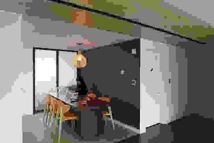 Hongeun-dong apartment unit remodeling 모던스타일 다이닝 룸 by designband YOAP 모던
