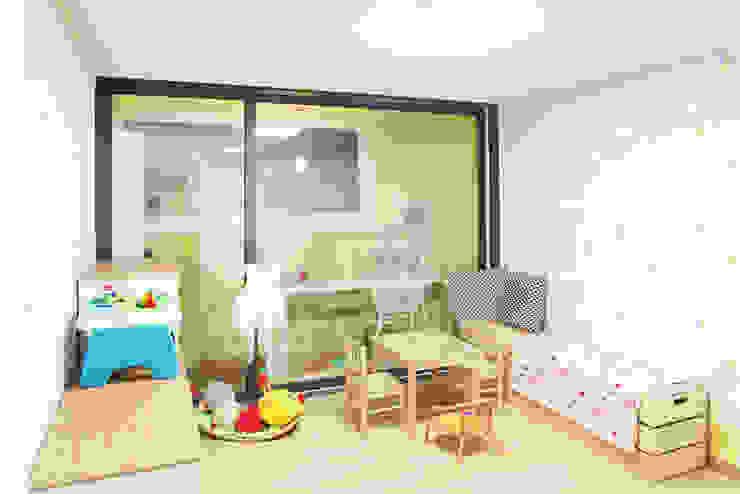 Hongeun-dong apartment unit remodeling 모던스타일 아이방 by designband YOAP 모던