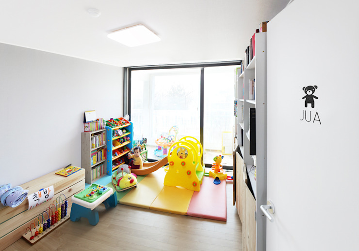 Hongeun-dong apartment unit remodeling 모던스타일 아이방 by designband YOAP 모던