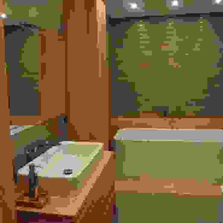 Dom jednorodzinny Skandynawska łazienka od studio bonito Skandynawski