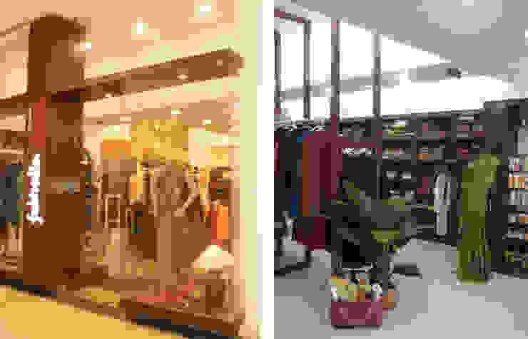 Fabindia, Bangalore Modern offices & stores by Parikshit Dalal Design + Architecture Modern