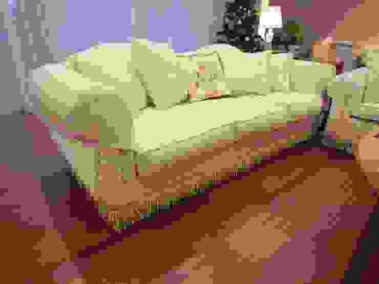 3 seater sofa : (株)工房スタンリーズが手掛けたクラシックです。,クラシック 合成繊維 ブラウン