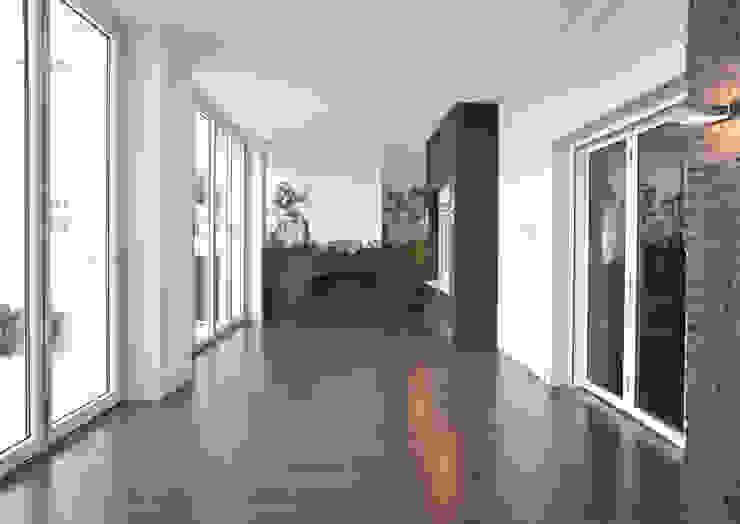 Коридор, прихожая и лестница в модерн стиле от SENZA ESPACIOS Модерн