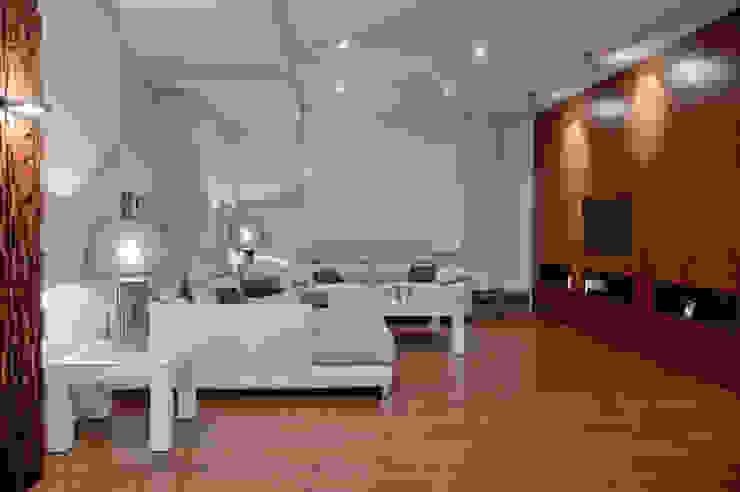 Living room by SENZA ESPACIOS, Modern