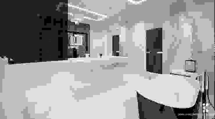 DOM ZERO Nowoczesna łazienka od Klaudia Tworo Projektowanie Wnętrz Sp. z o.o. Nowoczesny