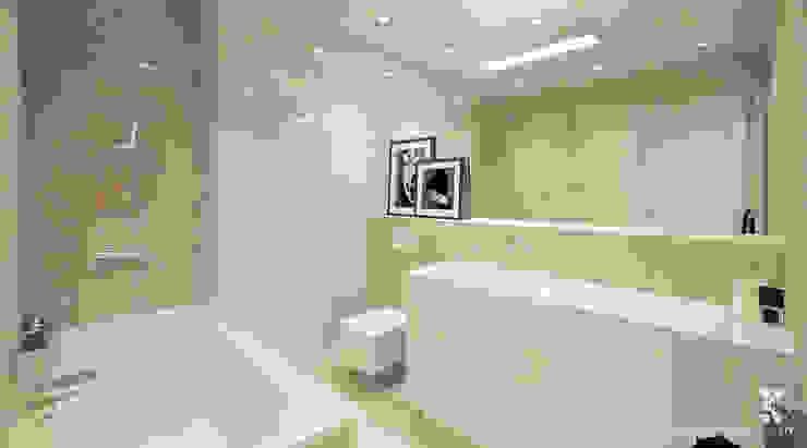 Ванная комната в стиле модерн от Klaudia Tworo Projektowanie Wnętrz Sp. z o.o. Модерн