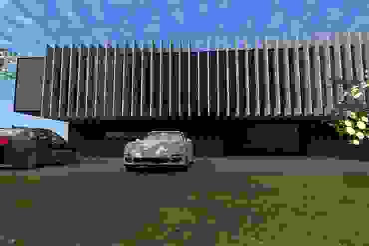 Unidade Industrial Casas modernas por FP Arquitetos Moderno