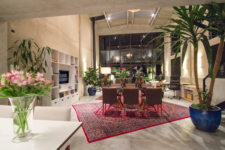 Escritório Katalin Stammer Espaços comerciais modernos por Katalin Stammer Arquitetura e Design Moderno