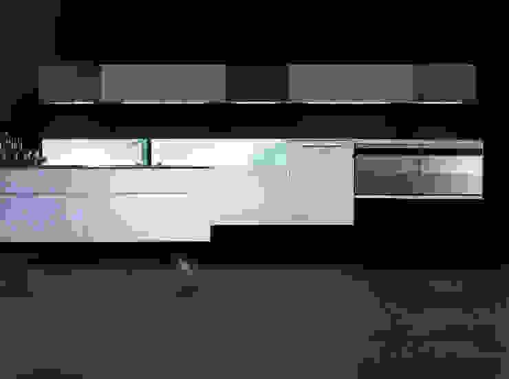 AERO 1 Cocinas de estilo minimalista de ARCE FLORIDA Minimalista Madera Acabado en madera
