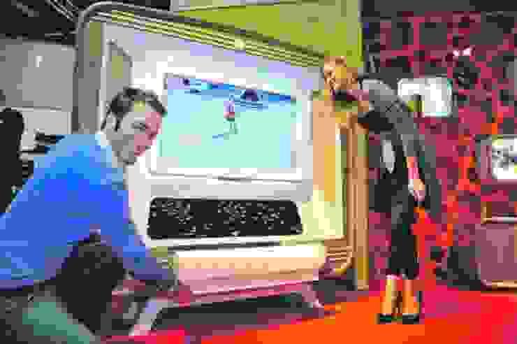 RETRO, VİNTAGE RADİO TV ÜNİTESİ FOTOOYMA & ARMAN CONCEPT Rustik