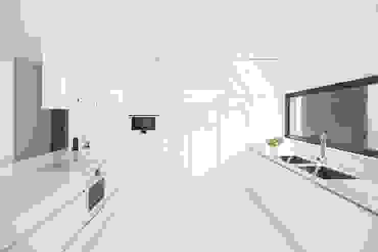 Minimalistische keukens van homify Minimalistisch Kwarts