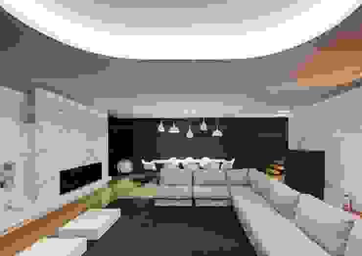 Salones minimalistas de Raulino Silva Arquitecto Unip. Lda Minimalista