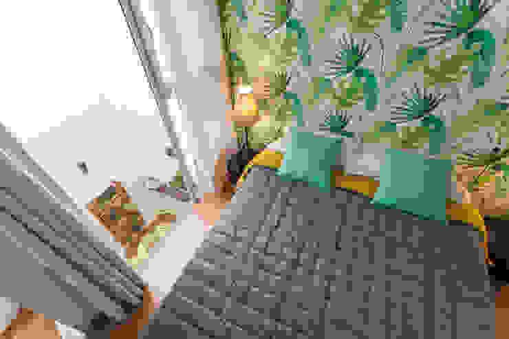 Vivienda en Sevilla, calle General Castaño Dormitorios de estilo moderno de Pablo Cousinou Moderno