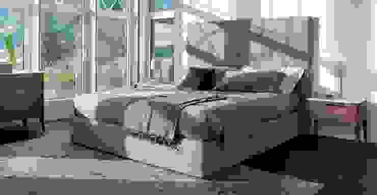 BOSTAN MOBİLYA VE TASARIM SAN.TİC.LT.ŞTİ – Alan Mobilya Latte Yatak odası: modern tarz , Modern Ahşap Ahşap rengi