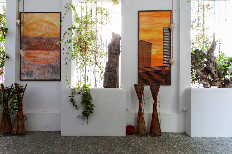 Pablo Cousinou Balcones y terrazas de estilo ecléctico