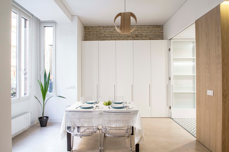 Dining room by DonateCaballero Arquitectos,