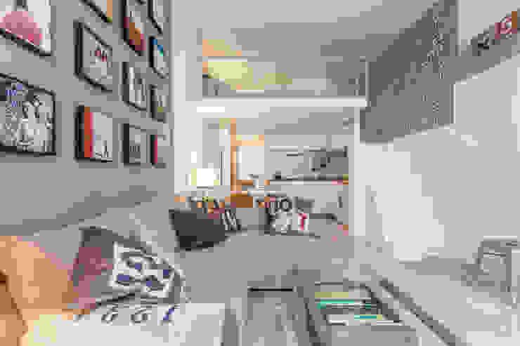 Salas modernas de Pablo Cousinou Moderno
