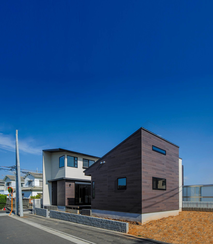 Oyako House オリジナルな 家 の Studio REI 一級建築士事務所 オリジナル