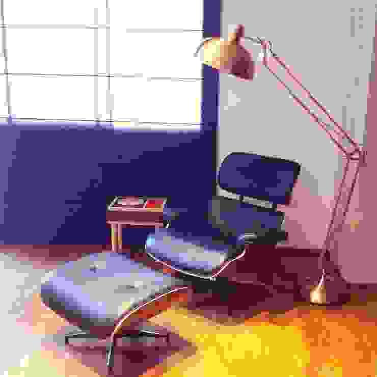 Cobertura Duplex Santana 290m² Salas de estar minimalistas por Fabiana Rosello Arquitetura e Interiores Minimalista