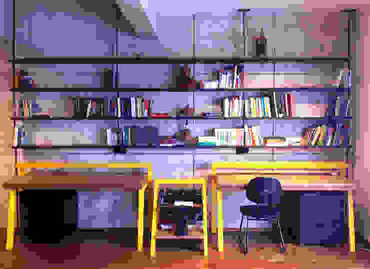 Fabiana Rosello Arquitetura e Interiores Ruang Studi/Kantor Minimalis