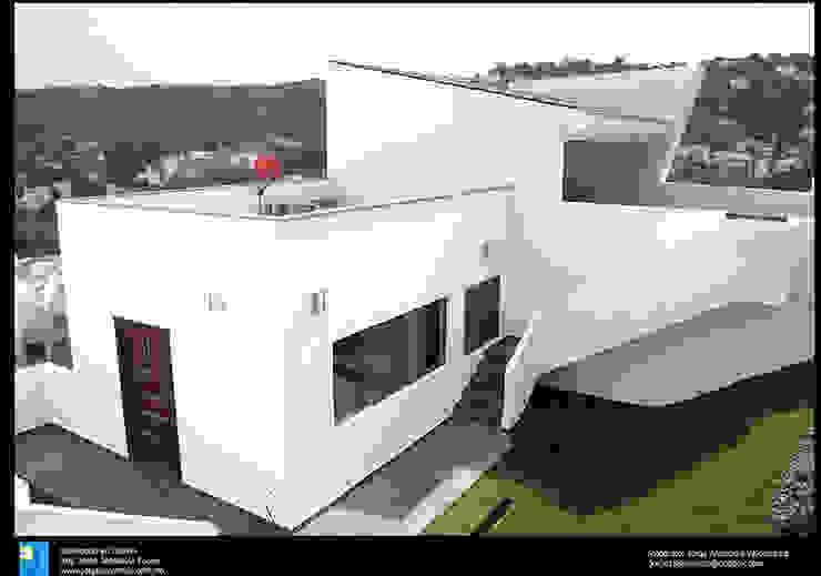 gym Gimnasios domésticos modernos de Excelencia en Diseño Moderno Concreto reforzado