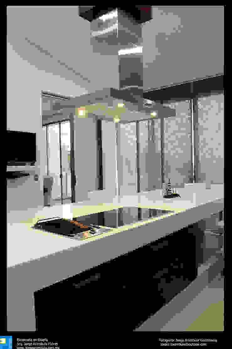 Excelencia en Diseño Kitchen Engineered Wood Multicolored