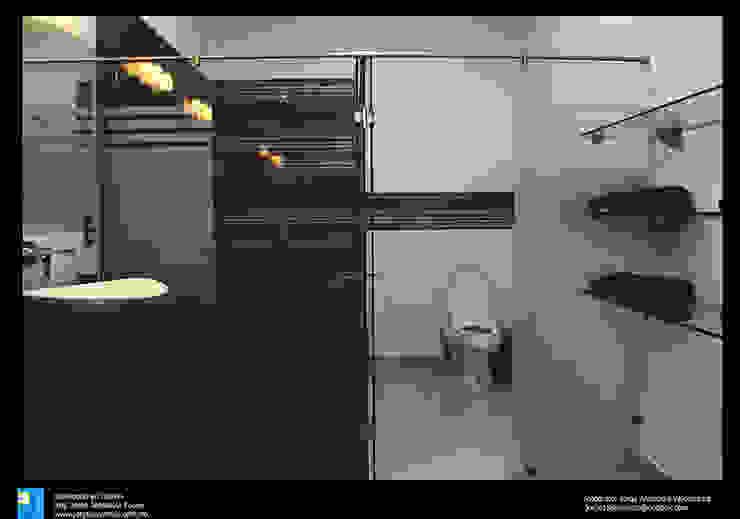 Salle de bains de style  par Excelencia en Diseño