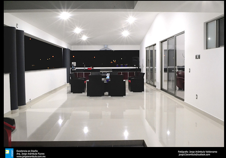 Terrace by Excelencia en Diseño, Modern Granite
