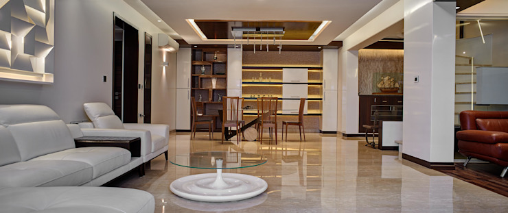 Apartment at Tirupur Modern dining room by Cubism Modern