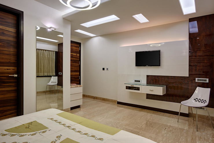 Apartment at Tirupur Modern style bedroom by Cubism Modern