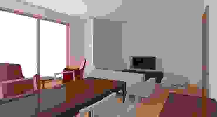 Bayat Konut Dönüşüm Modern Oturma Odası İdea İç Mimarlık Modern